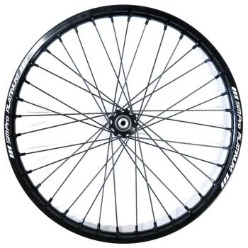 "SM PRO front wheel 23"" ALL BLACK"
